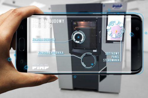 PIAP AR product visualization