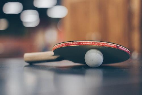 VR ping pong app
