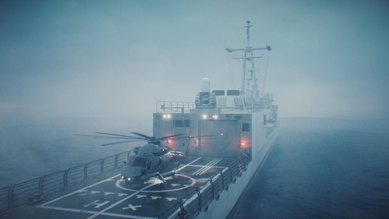 VR training for Flight Deck Officers