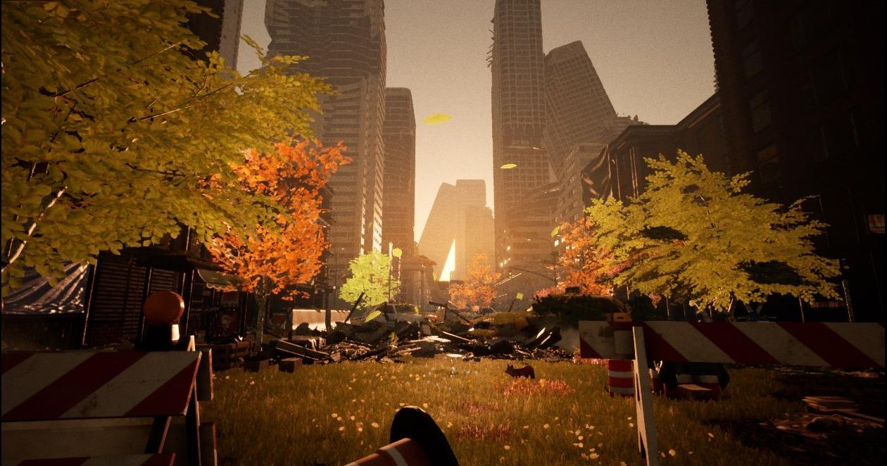 Apocalyptic Enviro: 3D scenery design