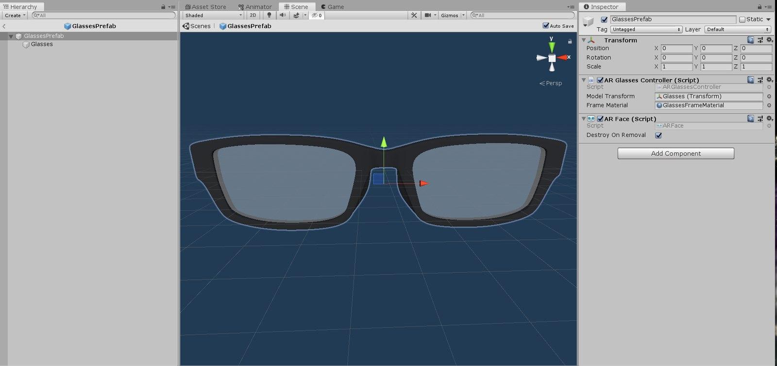 Glasses ARKit