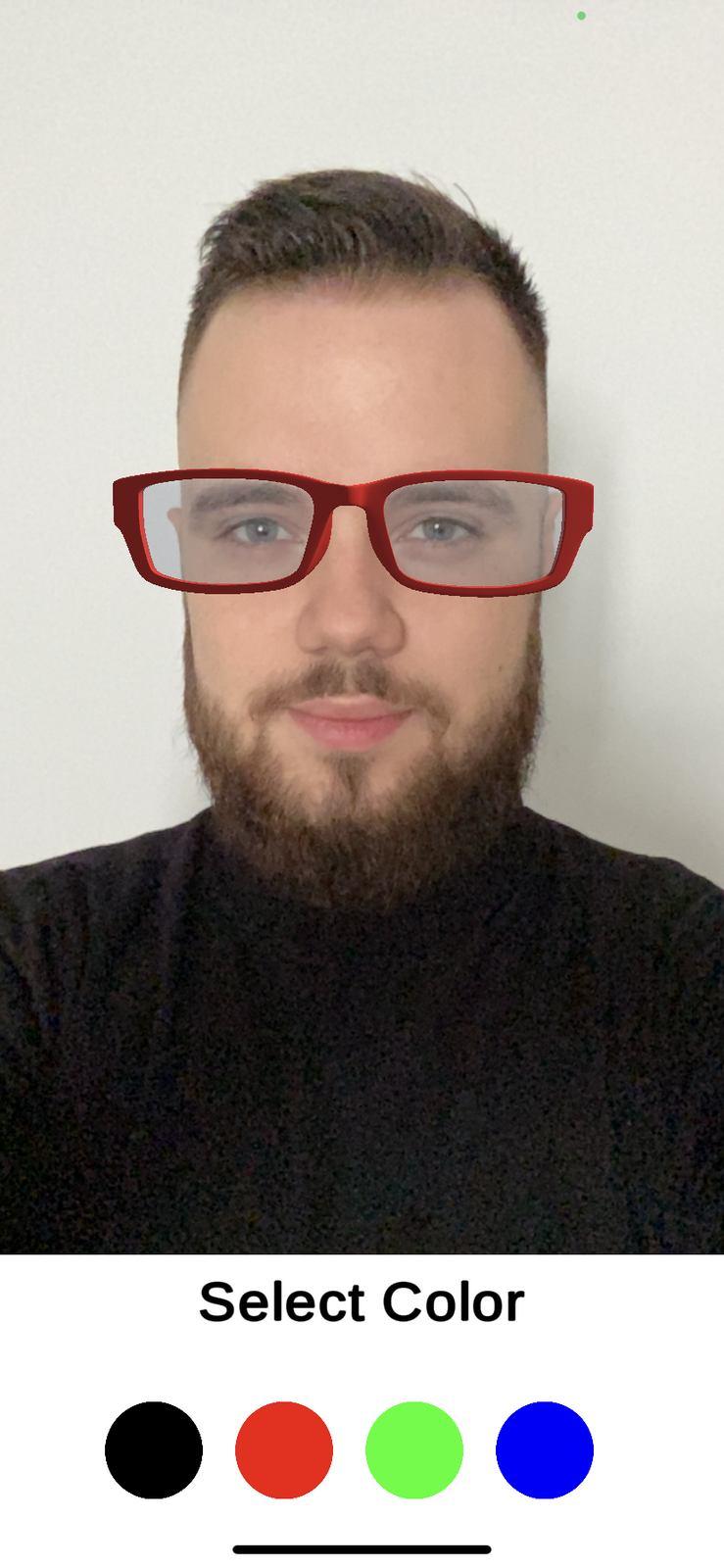 arkit glasses example 2