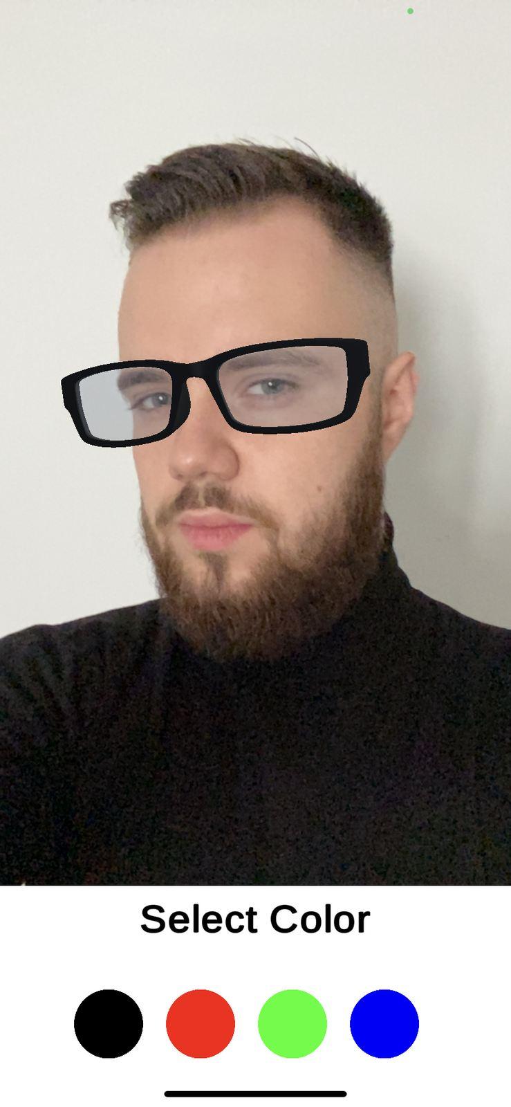 arkit glasses example