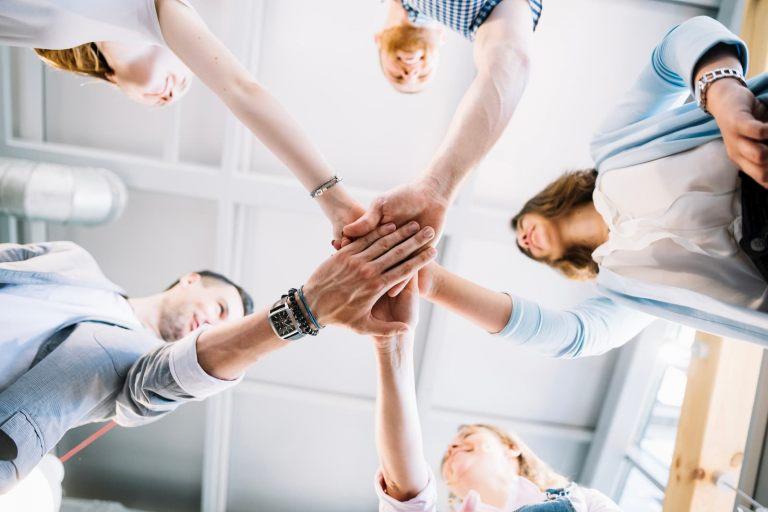 team, people in office
