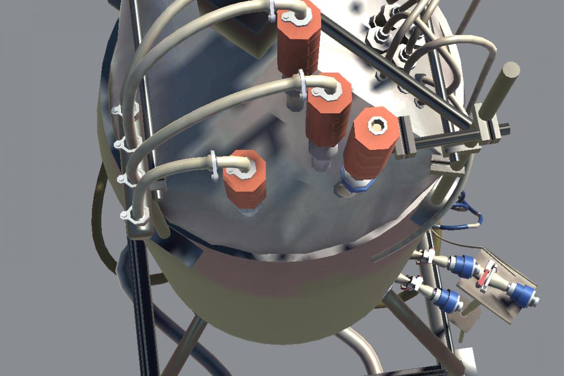 3D bioreactor - view 3
