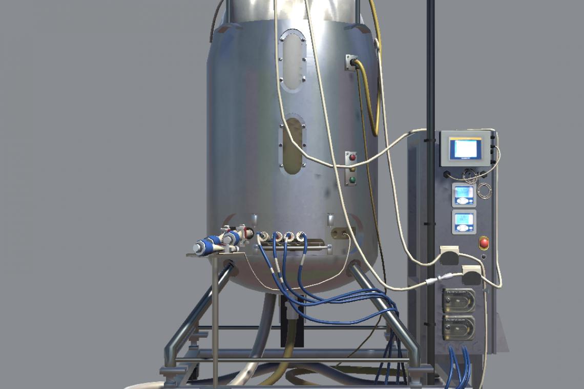 3D bioreactor - view 1