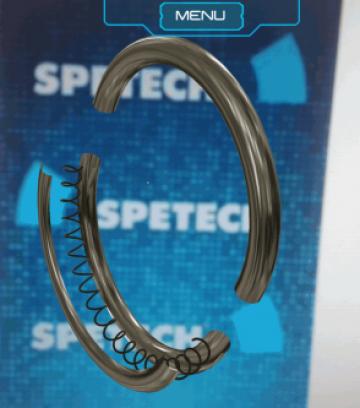 Spetech AR marketing app