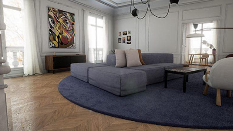 VR interior portfolio example